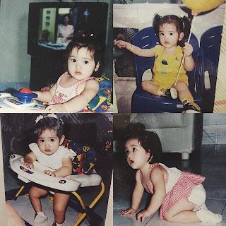 Foto Ranty Maria ketika masih kecil