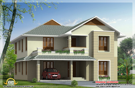 June 2012 kerala home design and floor plans for 2500 sq ft house plans india