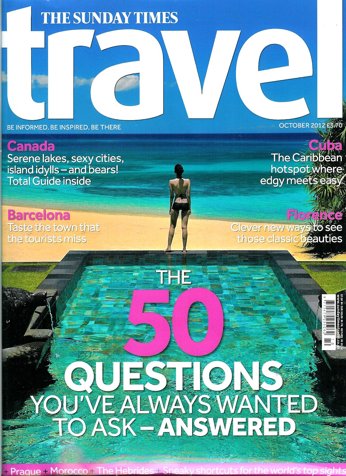 travel magazine writer needed There were only a couple of 'how to become a travel writer' type of books back when i  and figuring out what they needed to do  editor of afar magazine.