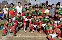 Hipólito Yrigoyen vivió una jornada a puro rugby