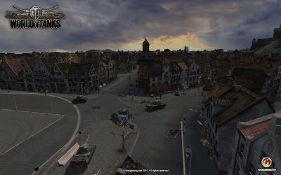 Screenshot z gry World of Tanks