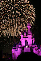 Firewords, Cinderella castle, Walt Disney World, Magic Kingdom, Disney vacation