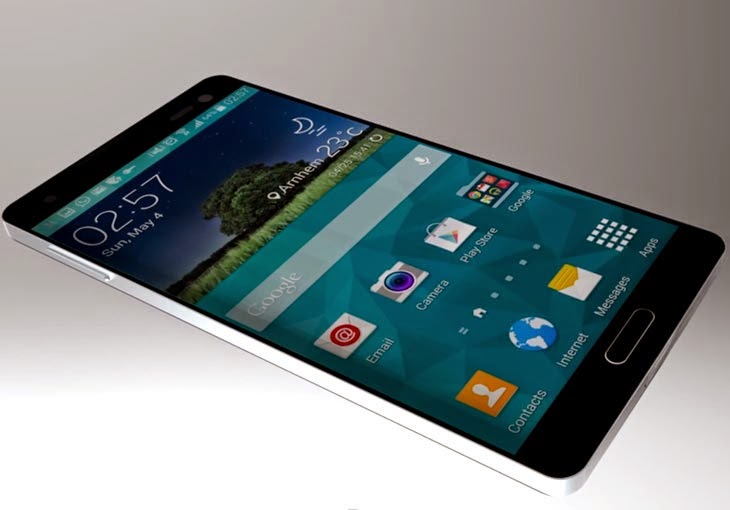Latest news on new phone Samsung Galaxy S6