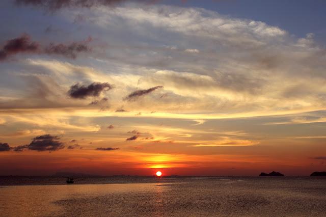 Ko Phangan sunset beach