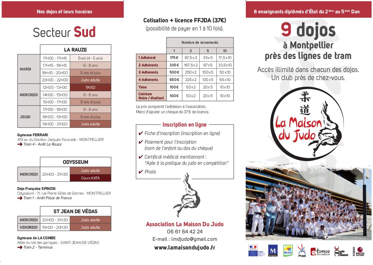 9dojos à Montpellier (Secteur Sud)