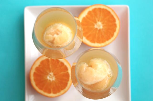 Orange Sorbet Mimosa | Grandbaby Cakes