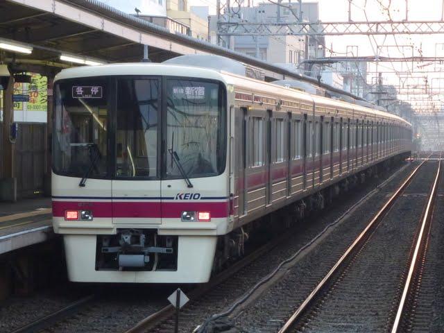京王電鉄 各停新線新宿行き 8000系(毎日始発終電運行)