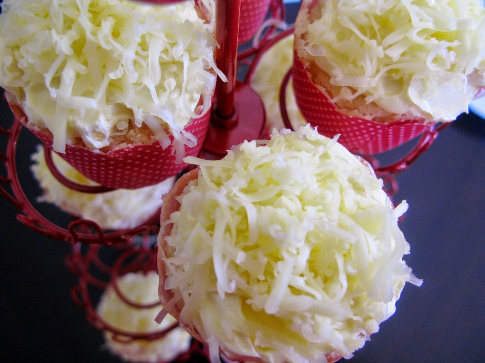 Resep Cupcake Chiffon Keju