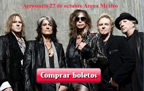 Aerosmith 27 de octubre BOLETOS
