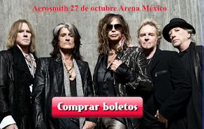 Aerosmith 27 de octubre BOLETOS