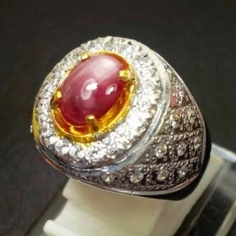 kode lp561 jenis batu permata natural ruby star biasa disebut batu ...
