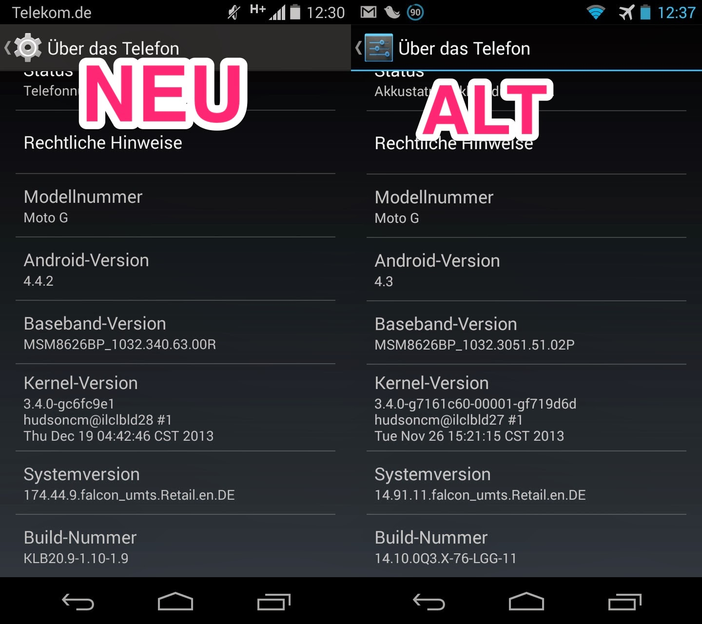 Motorola, Moto G, Motorola Moto G, Android 4.4.2, Android 4.4.2 KitKat, Android KitKat