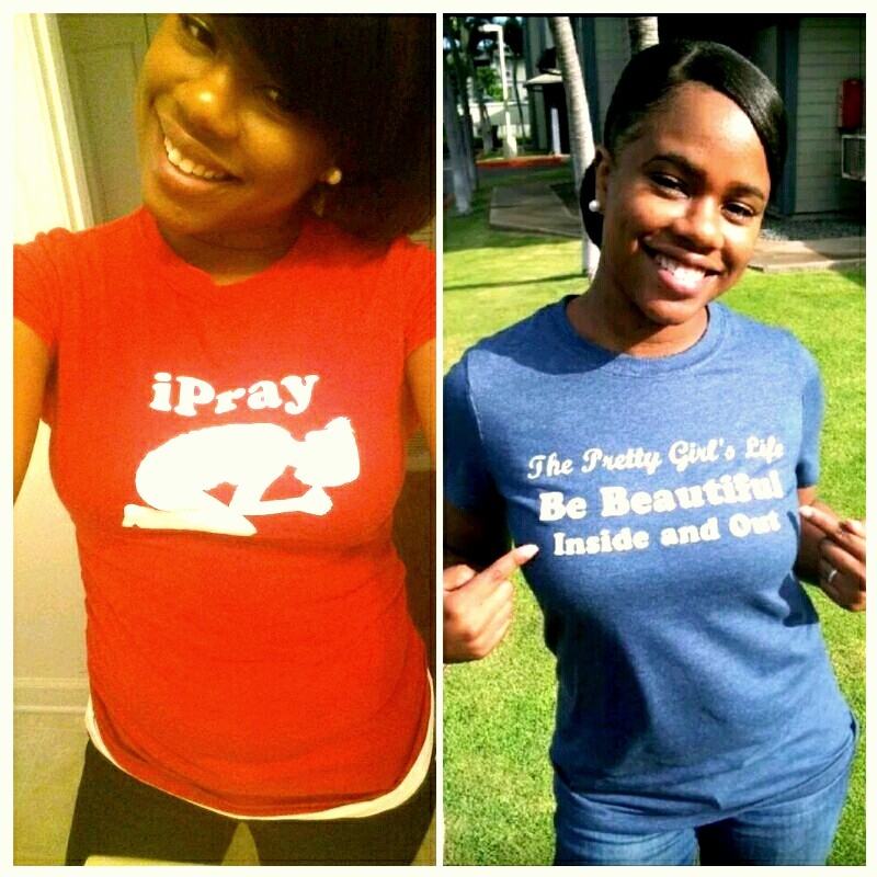 Check These Adorable Tees and More Over at The Pretty Girl's T-Shirt Shop!
