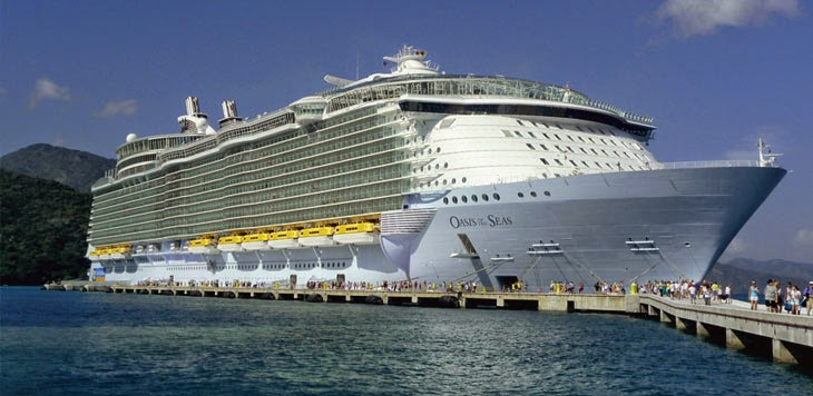 5 Kapal Pesiar Paling Mewah di Dunia