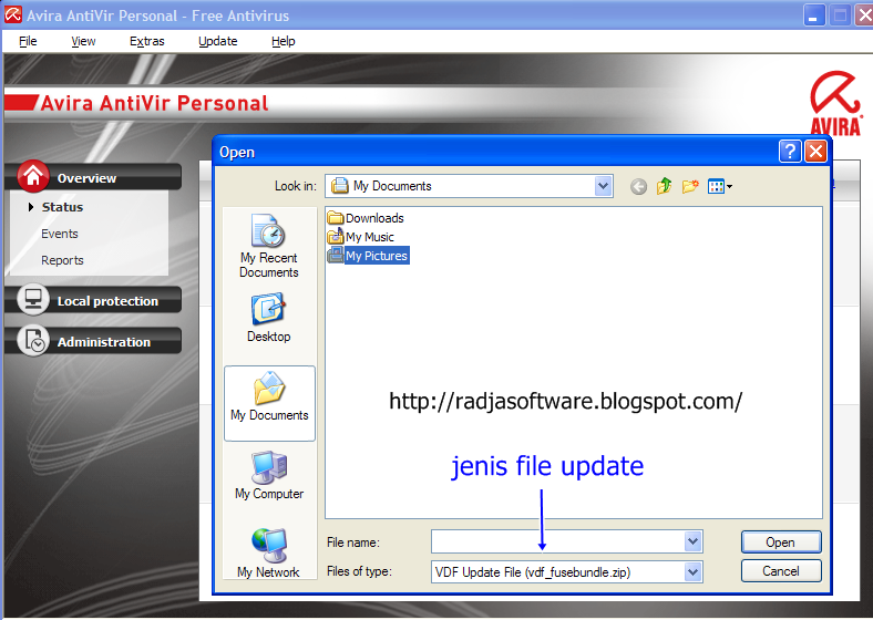 Download Avira Antivir Virus Definitions for Avira 10