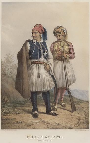 Η Ελληνο-Αλβανική Συμμαχία τού 1821