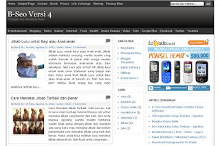 GRATIS TEMPLATE RINGAN DAN SEO FRIENDLY