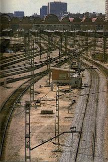 Estación de Madrid Chamartin y vias