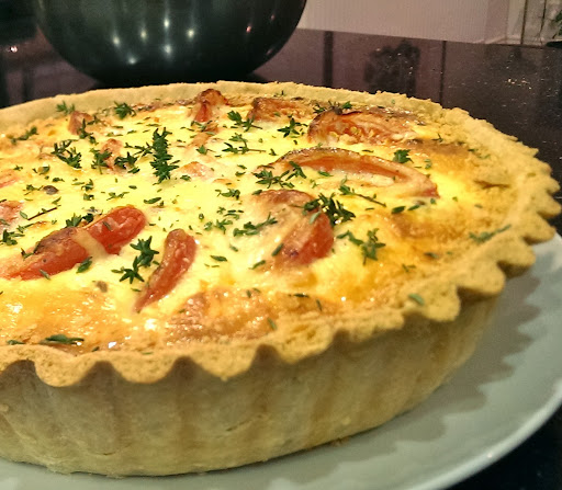 Another recipe from one friend to another... Lisa's Lentil Quiche