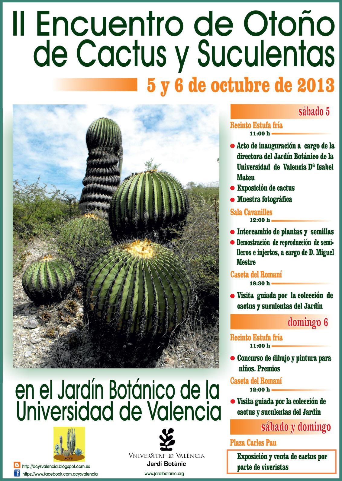 Viveros vangarden encuentro cactusero - Informacion sobre los cactus ...