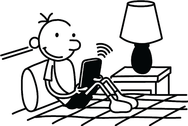Diary of Wimpy Kid Coloring Pages