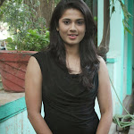 Hudasha Photos in Tight Jeans at Sandhithathum Sindhithathum Movie Press Meet