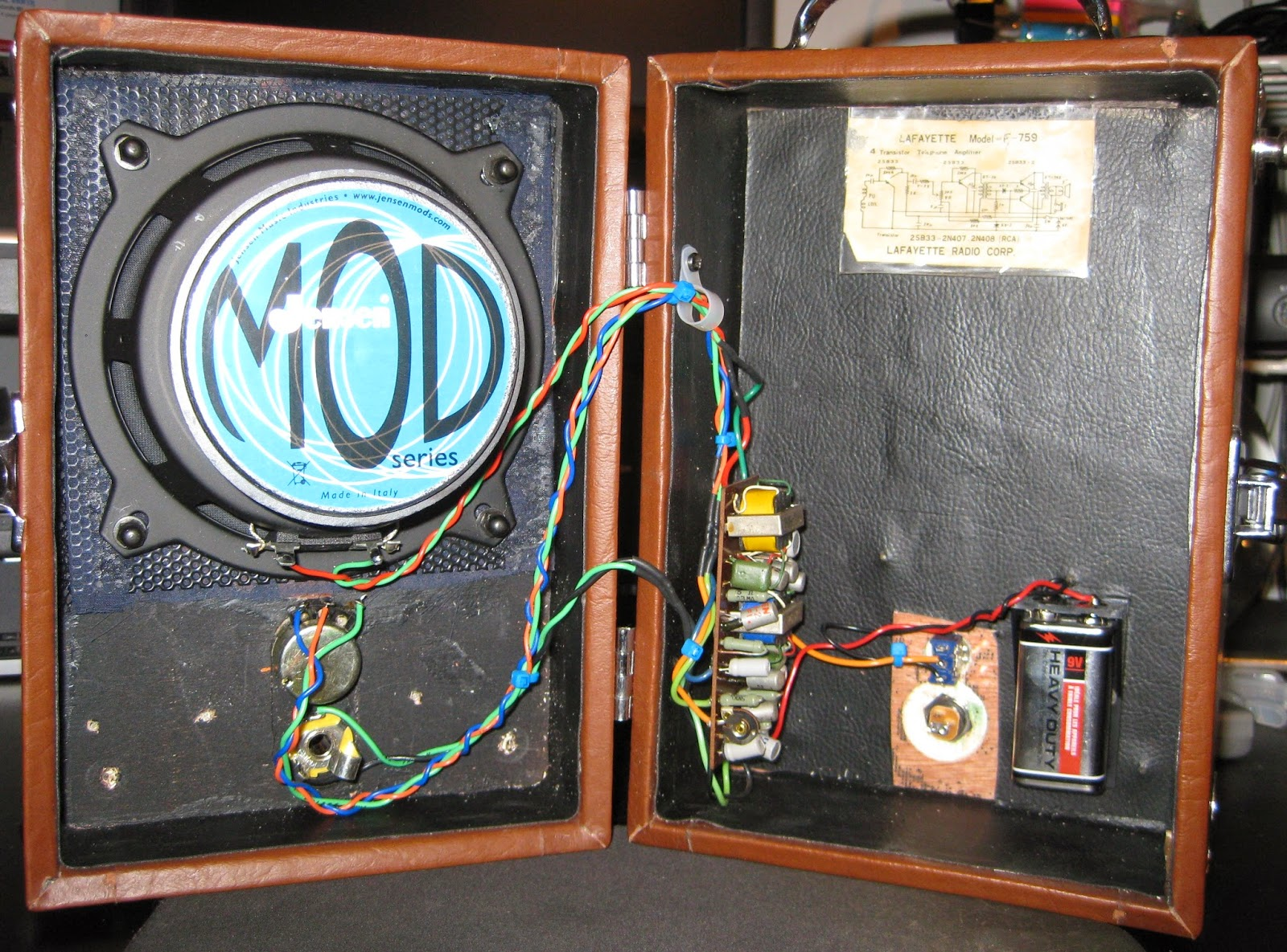 Diy Guitar Amp Hacks June 2014 Pignose Strat Wiring Diagram A Note For Me Dudeclips Please