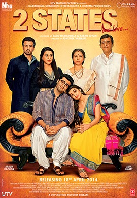 2 States poster watch online full movie free download 2014.