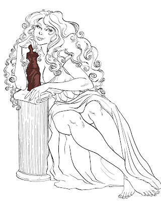 Hera Greek Goddess Cartoon Aphrodite greek goddess
