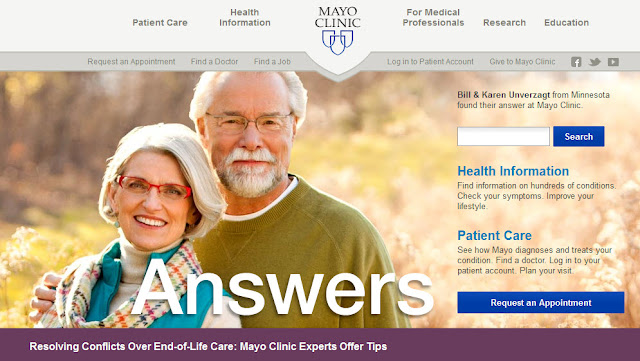 mayo clinic answers