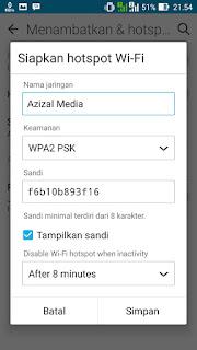 password hotspot