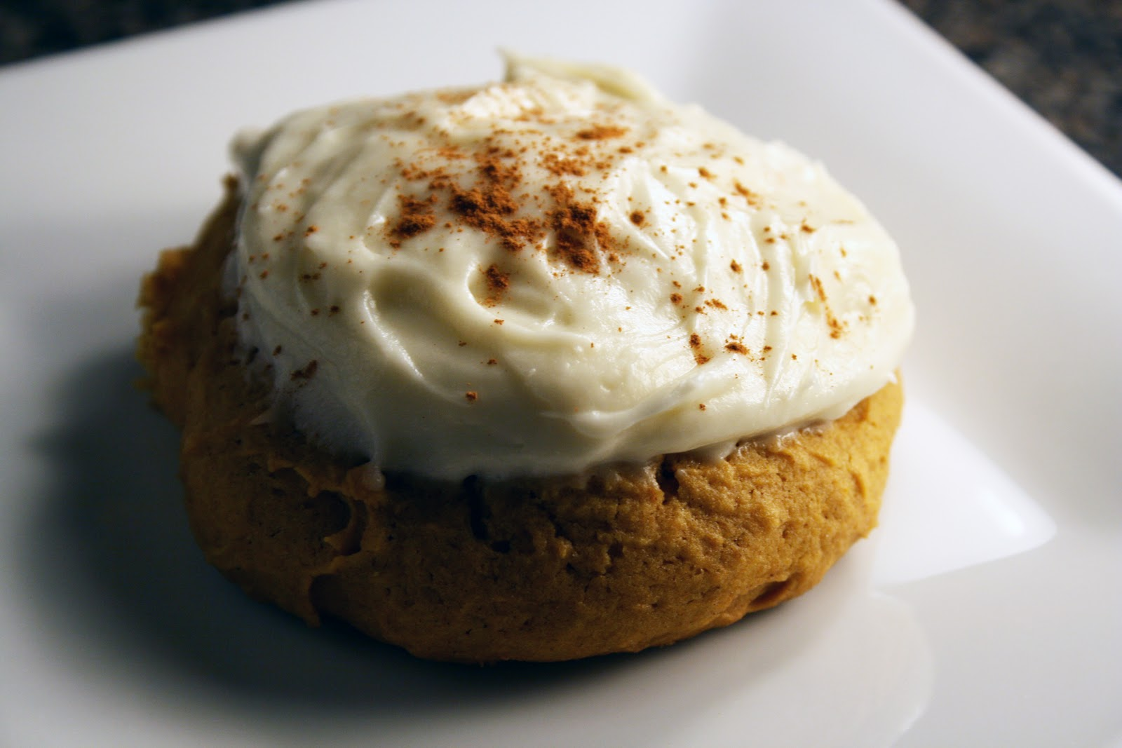 SHE: Pumpkin Cookies with Cream Cheese Icing