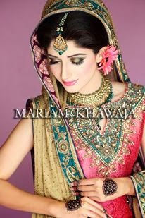 Mawra hocane New Bridal Shoot images makeup by mariam khawaja
