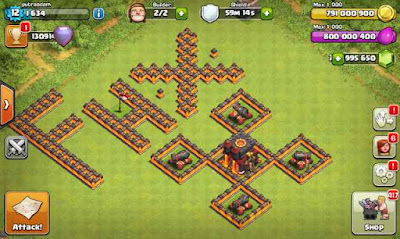 Download Mod Clash Of Clans FHx V8 Private Server
