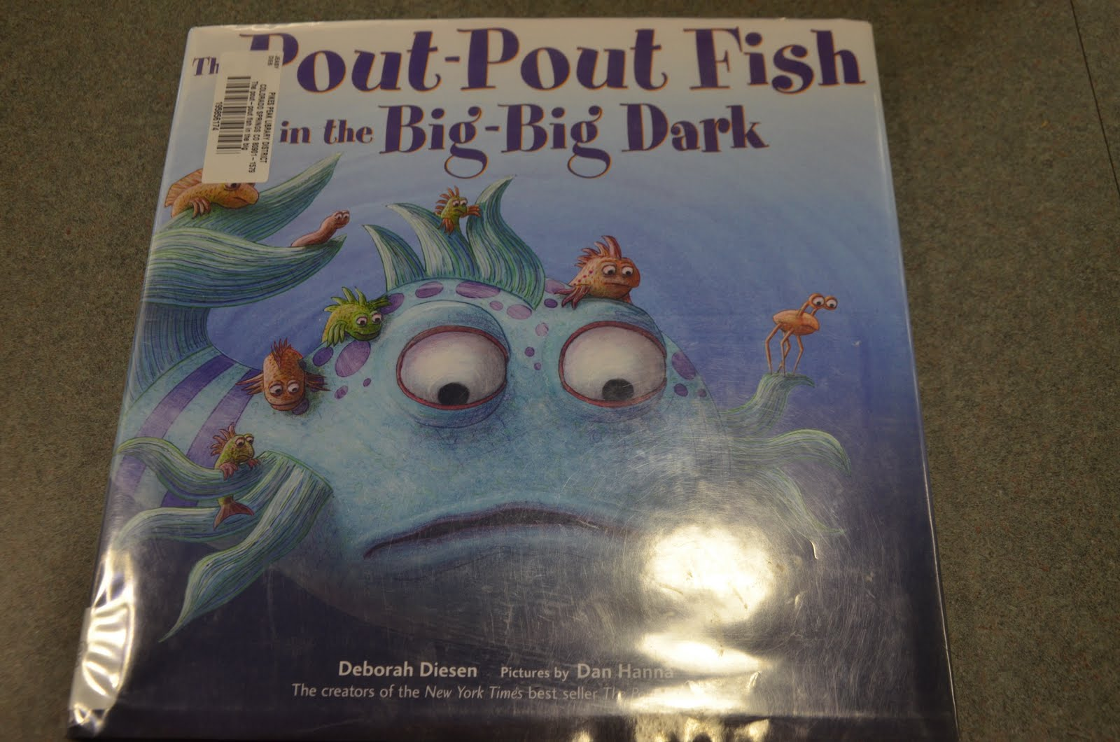 Mrs archer 39 s book notes blog archive the pout pout for The pout pout fish in the big big dark