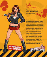 Zombicide Kickstarter Lea the Teenager