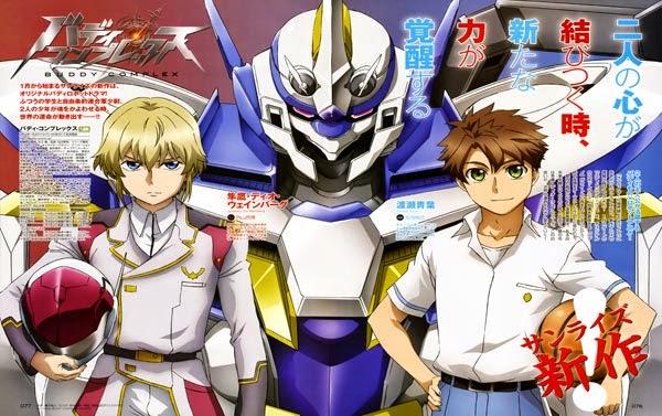 [ Info-Anime ] Buddy Complex