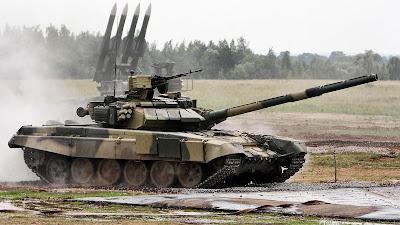 Tank Canggih T-90 Rusia