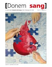 La revista dels Donants de Sang de les Comarques de Lleida