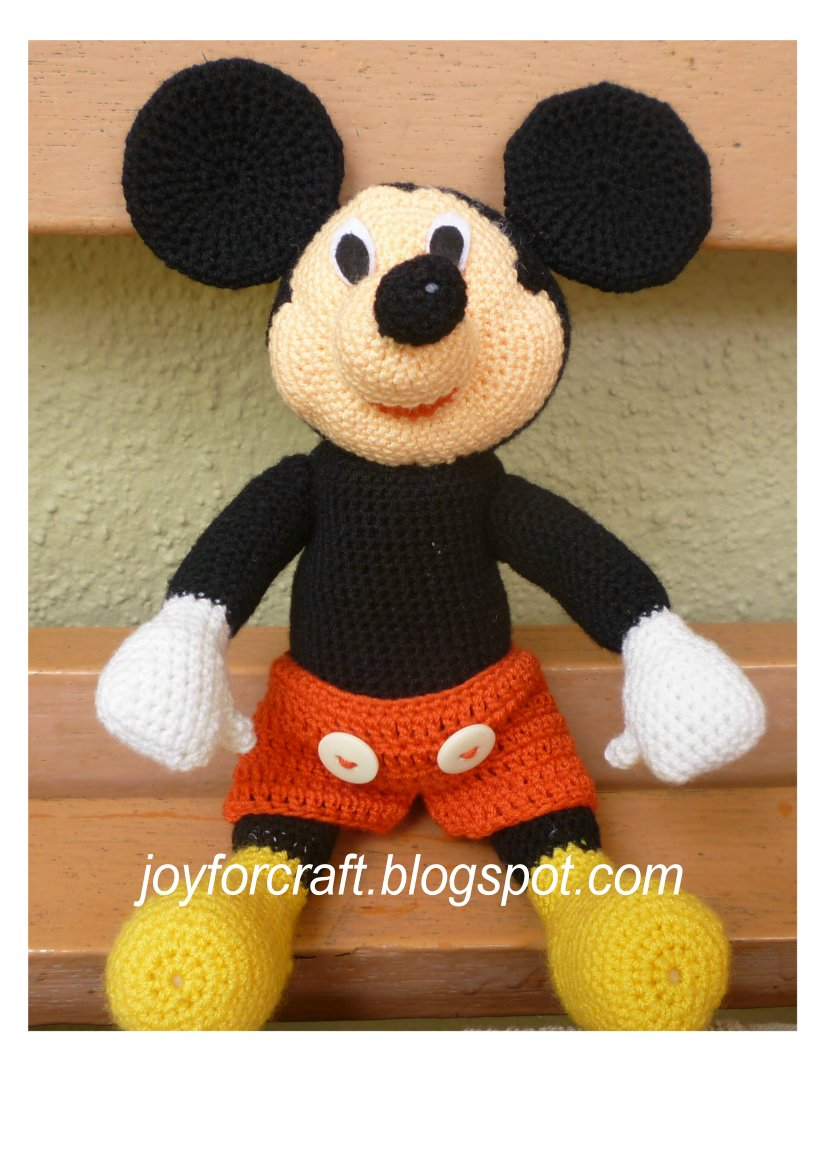 Free Crochet Pattern For Mickey Mouse Shoes : Mickey Mouse Foot Template - Viewing Gallery