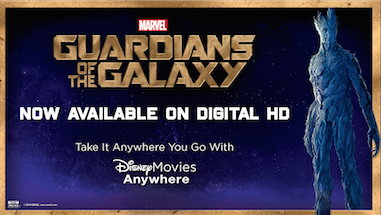 Marvel's Guardians of the Galaxy is now available on Digital HD