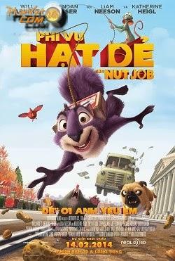 xem phim Phi Vụ Hạt Dẻ - The Nut Job 2014 full hd vietsub online poster