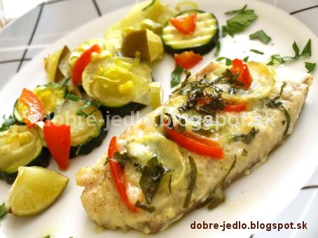 Treska so zemiakovými plátkami - recepty
