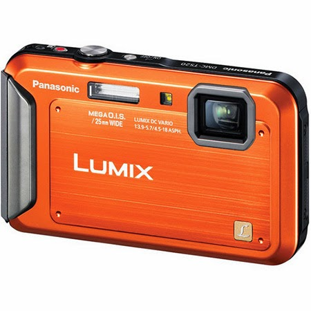 Panasonic Lumix DMC-TS20 Digital Camera - Water-/Shock-/Freeze-/Dust-Proof  Ultra-Wide 25-100mm zoom