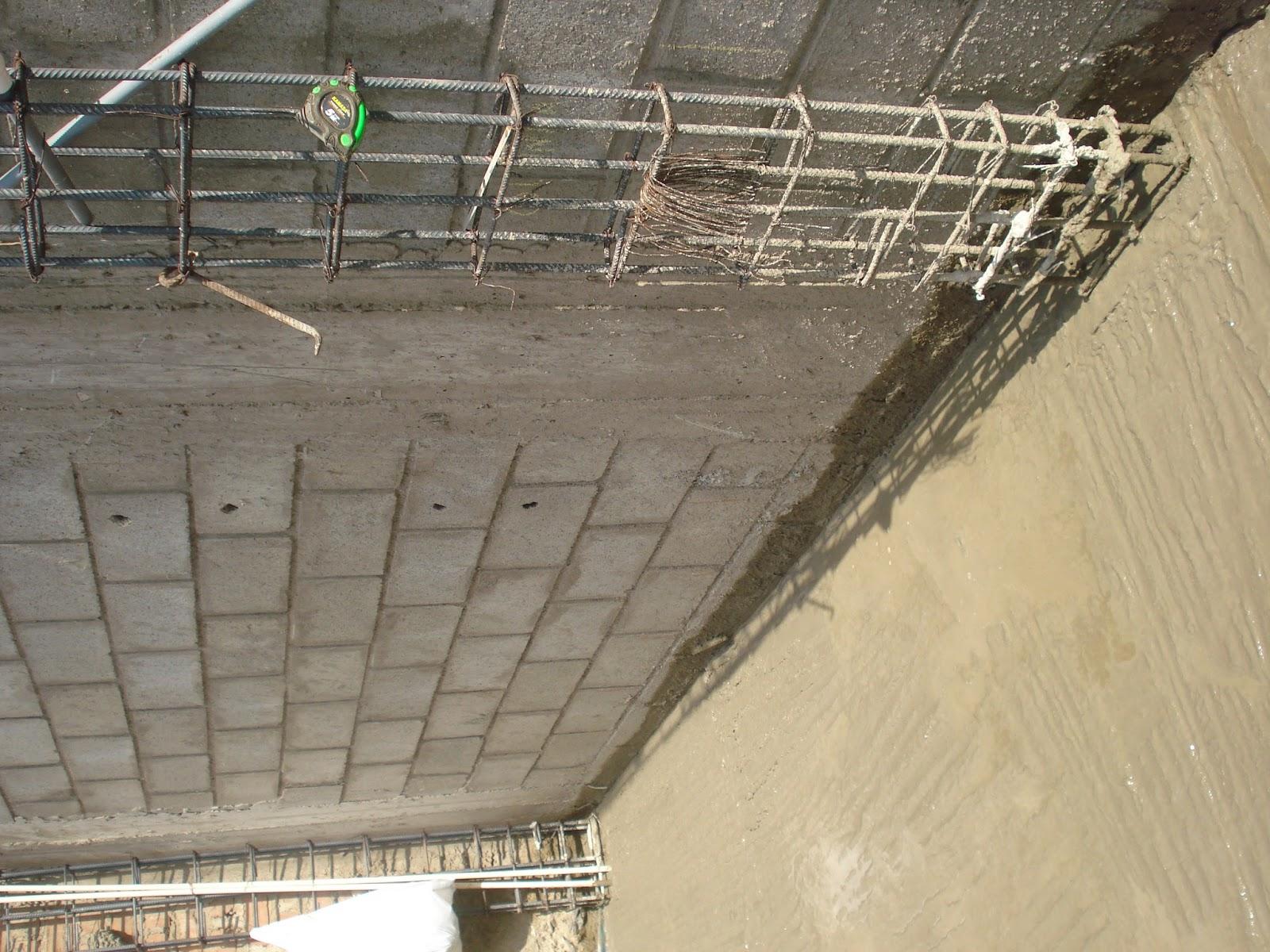 Construcci n de una casa vaciado de concreto en losa de for Construccion de gradas de concreto