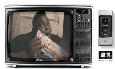 écran de télévision gourmandise