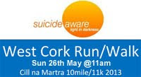 10 mile charity run near Macroom / Ballyvourney...
