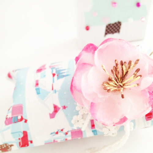 Prima+Flower+Topped+Washi+Tape+Toilet+Roll+Pillow+Box Greengate Washi Tape Christmas Gift Wrap Boxes and Toilet Roll Pillow Box DIY