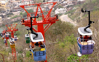 Mansa Devi temple by ropeway