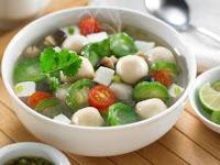 Resep Makanan Sehat; Sup Oyong atau Gambas